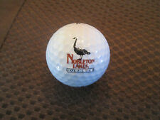 LOGO GOLF BALL-NOBLETON LAKES GOLF CLUB.........GOOSE LOGO
