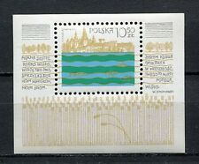 36108) POLAND 1981 MNH** Vistula River Project S/S