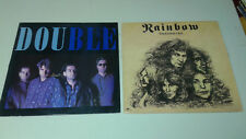 ( 2 ) Album Lot 1986 Double- Blue and 1978 Rainbow