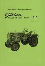 Güldner ALD Motor 2LD Ersatzteilliste + Reparatur-Anweisung Ersatzteilkatalog