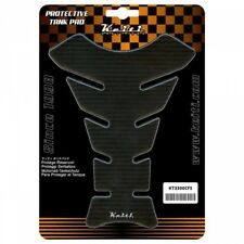 Keiti Protector de la etiqueta engomada de la Almohadilla De Tanque De Motocicleta Aspecto de Carbono negro KT3300CFS