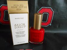Mary Kay Salon Direct RICH RED long wearing nail enamel