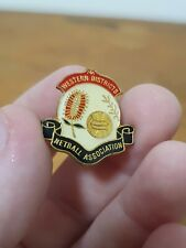 Vintage Western District Netball Association Badge