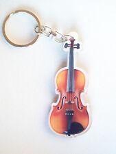 Porte-clé en forme de violon