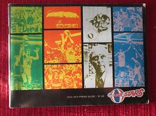 Utah Stars 1973-1974 ABA Basketball Media Press Guide ORIGINAL