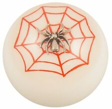 White w/ Red Spider Web shift knob M10x1.50 th