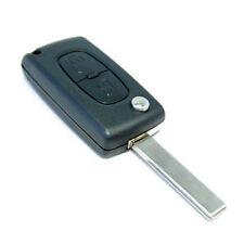 HQRP 2 botones Carcasa para llave Peugeot 107 207 307 308 408 de Mando remoto