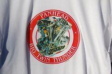 retro art vintage graphic mens Gildan 100%  cotton t shirt  S M L XL Panhead