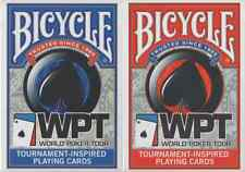 Bicycle World Poker Tour (WPT) Playing Cards - 2 Deck Collection - Sealed