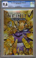 Infinity FCBD 2013 CGC 9.6 NN 1st Corvus Glaive Black Order Thanos Avengers War