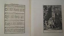 MUSIQUE DE LABORDE 1881 PARTITION TEXTE et 2 GRAVURES XIX éme L ENLEVEMENT