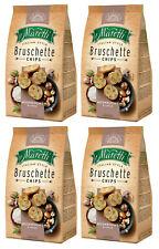 4 x BRUSCHETTE MARETTI Mushroom & Cream Flavor Oven Baked Bread Bites Snacks 70g