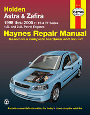 Holden Astra TS from 1998-2005 Workshop Repair Manual with MPN HA41710