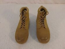 Children Youth Fila Tan Authentic Leather Lace Up Work Style Boots 2 33022