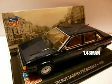 Sim3f Altaya IXO 1/43 Simca Bagheera Courrèges 1976 blanche
