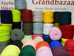 Stoffgarn/T-Shirt Garn, Textilgarn Spaghetti Bändchengarn 600-750g