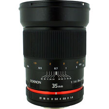 Rokinon 35mm f/1.4 Wide-Angle US UMC Aspherical Lens for Olympus