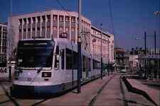 Signe Métallique 542088 DUWAG Allemagne construit super tram Sheffield UK A4 12x8 aluminium