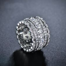 925 Silver Band For Women Inlaid Cubic Zirconia Design Luxury & Exquisite Ring