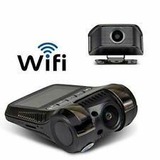 Yakola Y9 WiFi DashCam, Dual Mini Car Camera, Full HD 216P Front Camera 1080P