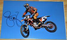"RYAN DUNGEY #1 Signed 12x18"" Fox KTM Photo #11 - 4x SX Champion MX"