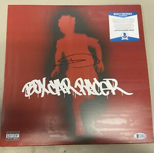 TOM DELONGE SIGNED BOXCAR RACER VINYL LP autograph record Blink 182 BAS BGS CERT