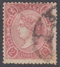 ISABEL II - Nº 74 - AÑO 1865 - BIEN CENTRADO - PRECIO CATALOGO: 175 €UROS
