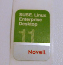 * 3 Original SUSE Linux Novell Aufkleber Sticker Fan Collectors Item Sammler *