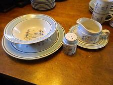 Primitif Museum Collection Stoneware Gravy Boat chop platter vegetable bowl +