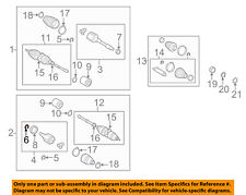 TOYOTA OEM Drive Axles-Front-Snap Ring 9008052017
