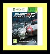 Need for Speed : Shift 2 - Unleashed Microsoft Xbox 360 Good Condition