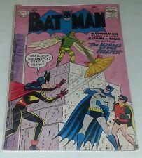 DC comics batman robin 126 1959 batwoman team up menace of the firefly