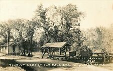 A View of the Tourist Camp At The Old Mill Inn, Willmar MN RPPC