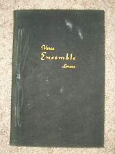 VERSE ENSEMBLE by Henry P Lorenz 1944  Poetry Book  LEATHER