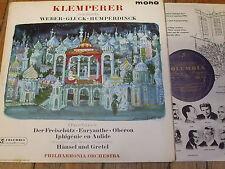 33CX 1770 Klemperer conducts Weber / Humperdinck / Gluck B/G