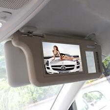 7 inch TFT LCD Car Sun Visor Monitors Display Video Rearview Mirror Retrovisor