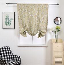 Retro Painting Spring Cherry Flower Sakura Window Curtain Blockout Drapes Fabric