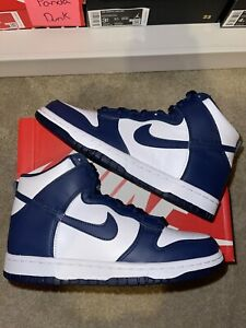 Nike Dunk High Championship Navy GS Size 6.5y (8W) Brand New 100% Authentic!!