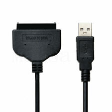 USB 3.0 To SATA 22 Pin 2.5 Inch Hard Disk Drive SSD Adapter Data Power Cable