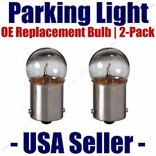 Parking Light Bulb 2-pack OE Replacement Fits Listed Mitsubishi Vehicles - 67