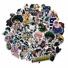 73pcs/set Anime My Hero Academia PVC Adhesive Stickers For Laptop Luggage