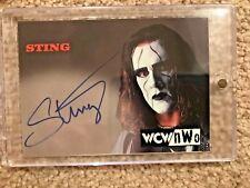 Topps WCW NWO Sting On Card Auto Autograph 1998 1999 WWE WWF