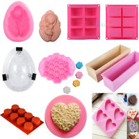 Soap Mold Silicone Loaf Baking Cookie Cake Tray Candle DIY Candy Chocolate Mould