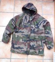 hommes Camouflage armée manteau veste militaire coupe-vent à capuche XL KAKI