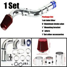 """3"""" 76mm Multiple Combined Cold Car Air Intake System Pipe Kit + Filter Practical"""
