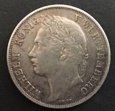 Württemberg, Gulden, 1841, Anniversario del governo, originale