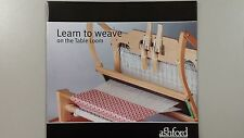 Learn to Weave on the Table Loom - Full Colour Instruction Booklet 18 Pages