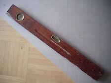 alte Wasserwaage Stabila Teakholz ca 80 cm lang