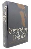 F. Scott Fitzgerald CORRESPONDENCE OF F. SCOTT FITZGERALD  1st Edition 1st Print