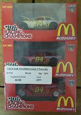 Nascar McDonalds Bill Elliott 3 Piece Set 1:64
